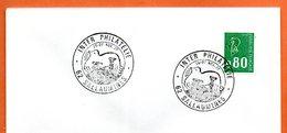 62 SALLAUMINES  INTER PHILATELIE  1977   Lettre Entière N° BC 860 - Gedenkstempels