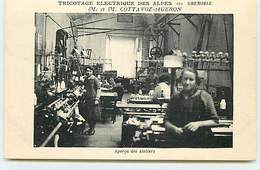 GRENOBLE - Tricotage électrique Des Alpes M. Et M. Cottavoz-Ageron - Aperçu Des Ateliers - Grenoble