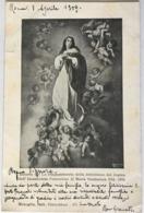 V 10643 Ricordo Del Cinquantenario Della Definizione Del Dogma Dell'Immacolata Concezione - Vergine Maria E Madonne