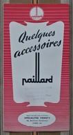 Depliant PUB Accessoires Photo Paillard BOLEX  CARON 80 Amiens  Specialites TIRANTY 75 PARIS 8e - Autres