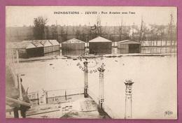 Cpa  Inondations 1910 - Juvisy Port Aviation Sous L'eau - éditeur ELD - Juvisy-sur-Orge