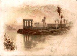 CHROMO SPECIALITE DE BLANC NANCY  PAYSAGE EGYPTIEN L'OASIS - Chromos