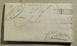 Prefilatelica Potenza-Matera - 22/12/1823 Con Testo - 1. ...-1850 Vorphilatelie