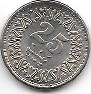 *pakistan 25 Paisa  1984  Km 58    Unc - Pakistan
