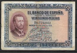 ESPAÑA, 1926 - [ 1] …-1931 : Eerste Biljeten (Banco De España)