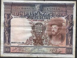 ESPAÑA, 1925 - [ 1] …-1931 : Premiers Billets (Banco De España)