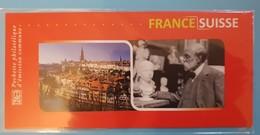 FRANCE 2009 Bloc Emission Commune France-Suisse Neuf Sous Blister - Sheetlets