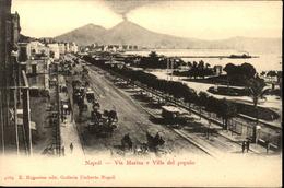 NAPOLI   Via Marina E Villa Del Popolo - Napoli (Napels)