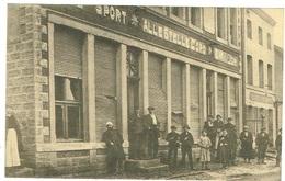 Dudelange Maison  Atteinte D`une Bombe 6 /12 1917 (Café SPORT ALLESTELLE D`ORO Belle Carte. - Dudelange