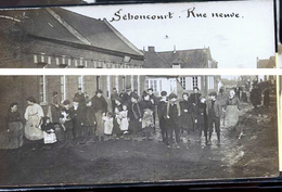 SEBONCOURT RUE NEUVE PHOTO CARTE - Autres Communes