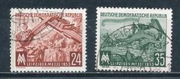 DDR 380/81 Gestempelt - [6] Repubblica Democratica