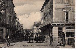 Terrasson, Avenue De La Gare - France