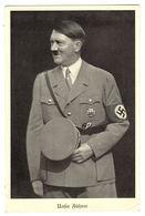 PORTRAIT OF HITLER - Unser Führer - CROIX NAZIE - Ed. Otto Hoppe, Berlin - Characters