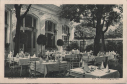 WIEN VII Vienna 1933 Restaurant Schoner Schöner Siebensterngasse Terrasse Jardin Garten Giardino Gartenlaube - Other