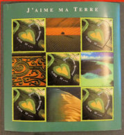 FRANCE - 2002 - YT BF 43 ** - COEUR J AIME MA TERRE - Blocks & Kleinbögen