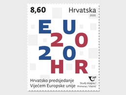 Kroatië / Croatia -  Postfris / MNH - President EU 2020 - Croatia