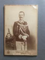 PHOTOGRAPHIE De G.Brogi (Firenze) VICTOR EMMANUEL III 1900 - Famous People
