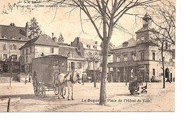 CPA Le Bugue Place De L'Hôtel De Ville - Autres Communes