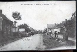 SEBONCOURT RUE DE LA VALLEE  CORRESP ALLEMANDE - Francia