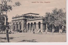 INDIA // INDE.  BANGALORE, GENERAL POST OFFICE - Inde