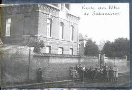 SEBONCOURT ECOLE PHOTO CARTE - Autres Communes
