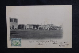 CÔTE DES SOMALIS - Affranchissement De Djibouti Sur Carte Postale En 1904 Pour Paris - L 50344 - Côte Française Des Somalis (1894-1967)