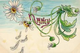 Nancy  Illustration Art Nouveau (sans Doute Projet De Décor) - Nancy