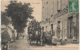 48 LE ROZIER - Arrivée D'une Caravane De Touristes (TOP TOP) - Other Municipalities
