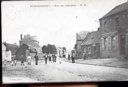 SEBONCOURT RUE DU CALVAIRE - Other Municipalities