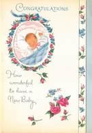 Geboorte Geboortekaartje Gelukwensen   11x 16 Cm     Barry 4344 - Geboorte