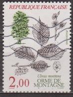 Arbres: Orme Des Montagnes - FRANCE - N° 2385 - 1985 - Used Stamps
