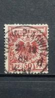 Deutsche Reich Mi-Nr. 50 A Gestempelt Geprüft - Usados