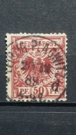 Deutsche Reich Mi-Nr. 50 A Gestempelt Geprüft - Oblitérés