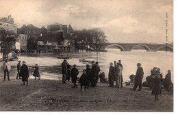CPA Bergerac (Dordogne) Innondation Des Quais 18 Février 1904 - Bergerac