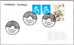 Matasellos EXPO.FILAT. EN NUEVO CENTRO-EUROPA. Valencia 1987 - 1931-Hoy: 2ª República - ... Juan Carlos I