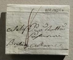 Prefilatelica Bologna-Alone (BS) - Anno 1849 Con Testo - ...-1850 Voorfilatelie