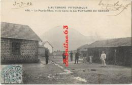 Le Puy-de-Dome Vu Du Camp De La Fontaine Du Berger - 1904 - Unclassified