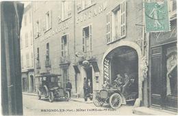 BRIGNOLES - Hotel Fabre De Piffard - Garage - Autos  (2083 ASO) - Brignoles