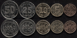 Zimbabwe Coins Set #6. 2014 (5 Coins. AUnc-Unc) - Zimbabwe