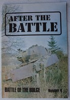 AFTER THE BATTLE Battle Of The Bulge Bataille Des Ardennes Bastogne Saint Vith Peiper Wehrmacht SS US Army - Guerre 1939-45