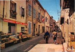 SERVIAN - Grande Rue - Gendarmerie - Magasin D'Alimentation - France