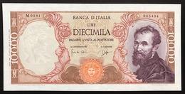 10000 Lire Michelangelo 27 07 1964 Raro Q.fds LOTTO 3099 - [ 2] 1946-… : République
