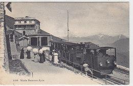 Ferrovia Del Monte Generoso In Stazione Della Vetta                 (P-204-90310) - TI Ticino