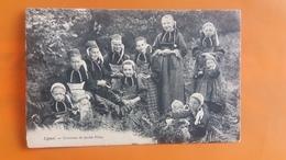 Lignol - Costume De Jeunes Filles - Autres Communes