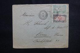 CÔTE DES SOMALIS - Enveloppe De Djibouti Pour La Suisse En 1910, Affranchissement Plaisant - L 50372 - Côte Française Des Somalis (1894-1967)