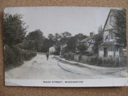 Main Street, Widdington, Essex (RP) - Posted 1947 - England