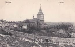 Post Card : Bedzin Kosciot  (Pologne) Vue Vers L'église  Animation  Dos Divisé Non Voyagé - Poland