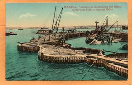 USS Maine Havana Cuba 1911 Postcard - Cuba
