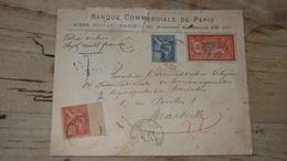 Enveloppe Avec VALEUR DECLAREE 1901 Pour Marseille - France