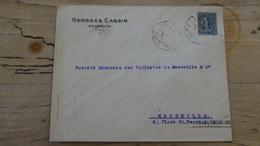 Enveloppe LIBAN BEYROUTH Pour Marseille 1924 Avex Jeux Olympiques PARIS 1924 - Liban